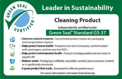 Green Seal Leader in Sustainability